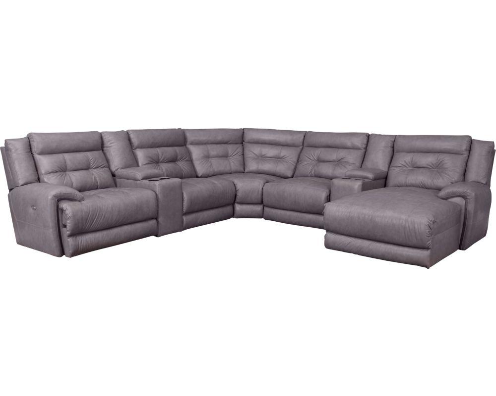 Awe Inspiring Lane Corsica Reclining Sectional Sofa Your Furniture 4 Less Bralicious Painted Fabric Chair Ideas Braliciousco